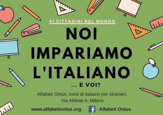 Noi parliamo italiano!