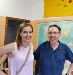 Moreno e la consigliera comunale Alice Arienta