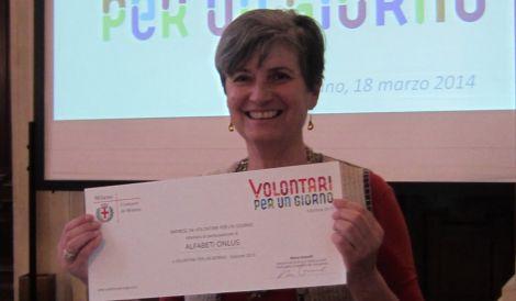 Alfabeti premiata dal sindaco Pisapia