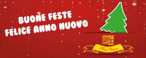 Chiusura per le Feste di Natale